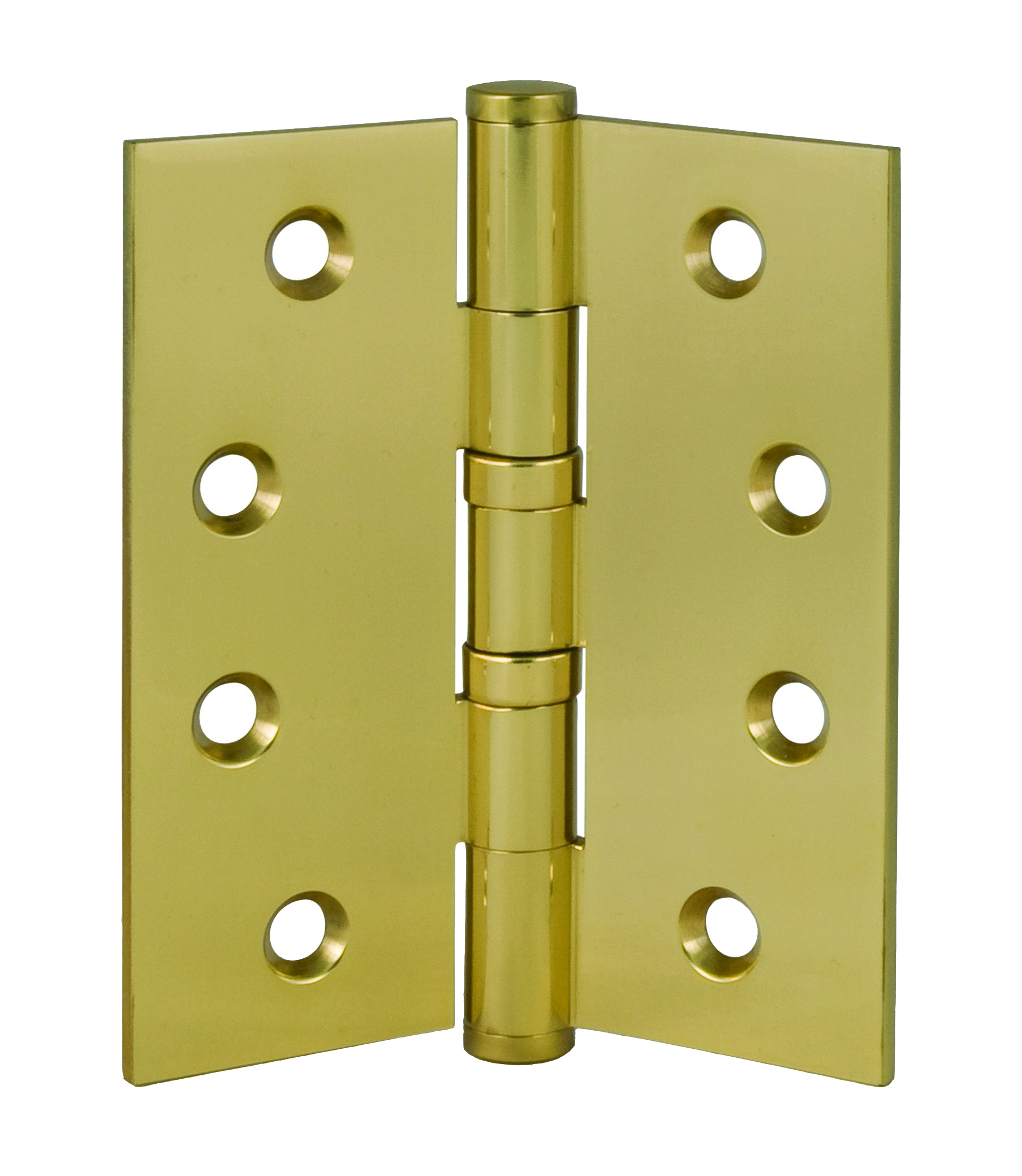 4″ Square Solid Brass Hinge