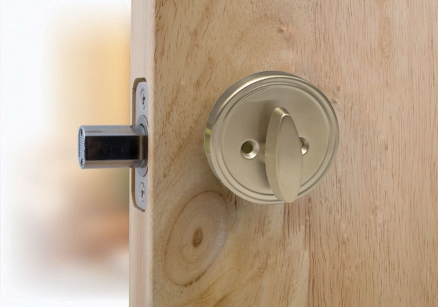 Deadbolt- D106- Single Sided- Half Deadbolt