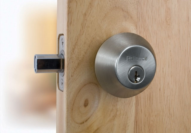 Deadbolt- D202-1 Piece- Single Cylinder
