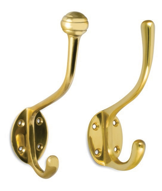 Double Oval Coat Hook