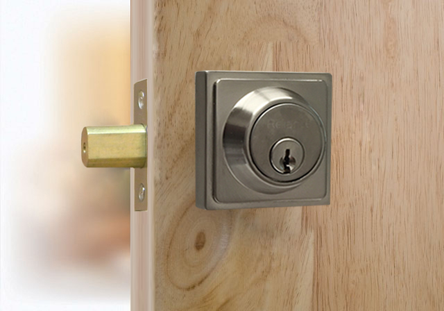 Deadbolt- S101-Square Series- Single Cylinder