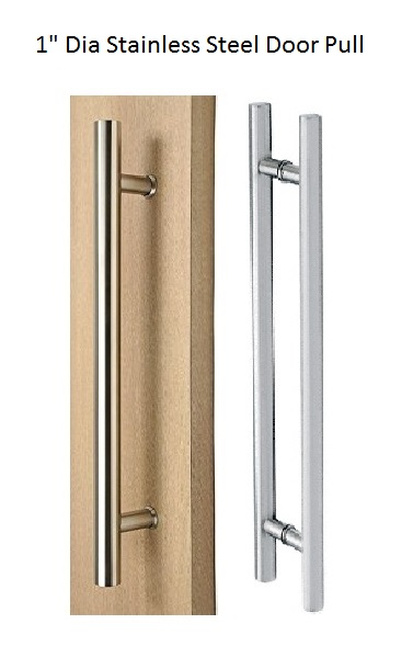 046-Mid Series- Stainless Steel Cabinet Door Pull