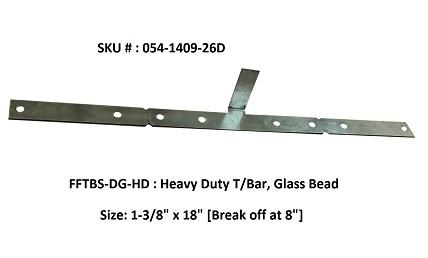 FF Security Plates-Heavy Duty T/ Bar, Paneled Sidelite
