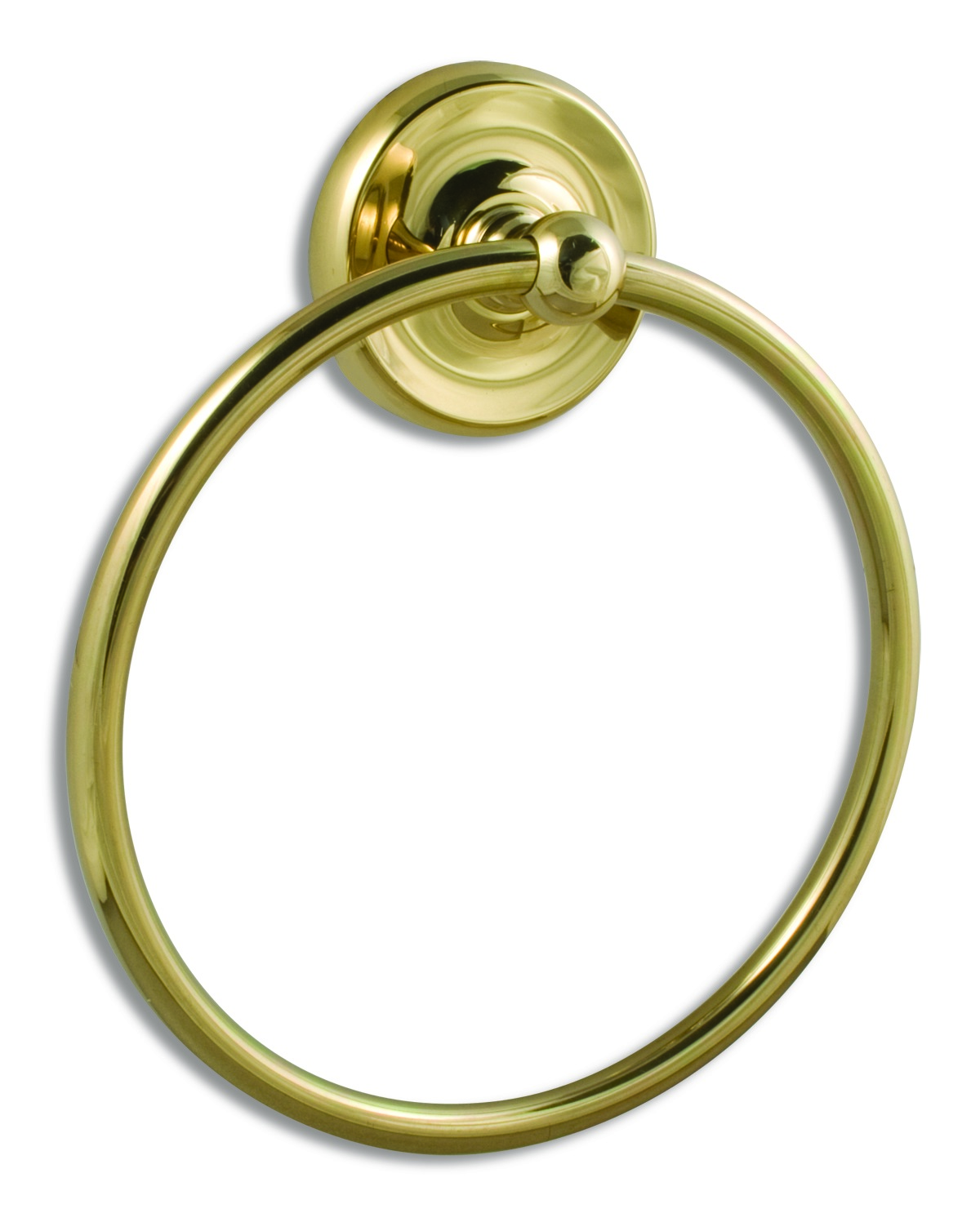 Solid Brass Towel Ring