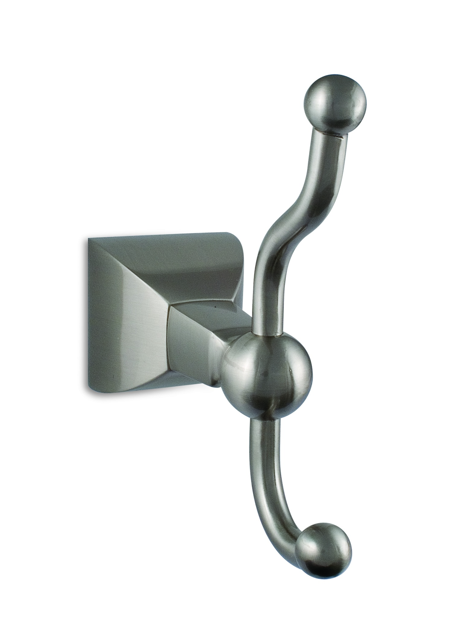 Crown Robe Hook Double