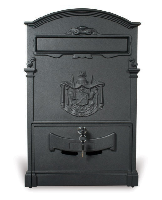 Coat of Arms Mail Box