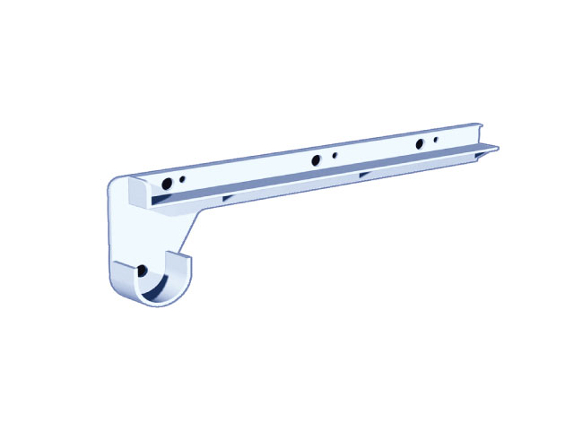 Shelf & Rod Supports 12″
