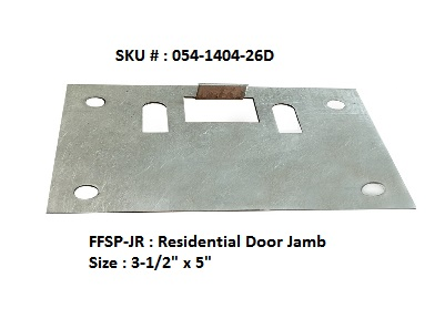 FF Security Plates-Residential Door