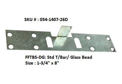 FF Security Plates-Std T/ Bar, DS or SDS Units